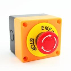 boton tipo hongo parada de emergencia