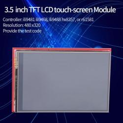 """Pantalla TFT LCD 3.5"""" Touch para arduino"""
