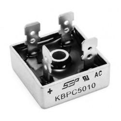 Puente rectificador 50A 1000v KBPC5010