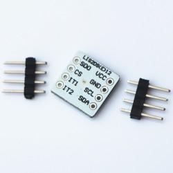 Acelerometro/Podometro y detector de movimiento