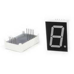 2X display  de 1 pulgada de siete segmentos 1 digito 1 pulgada