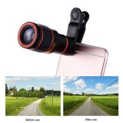 Zoom optico 12x para celular