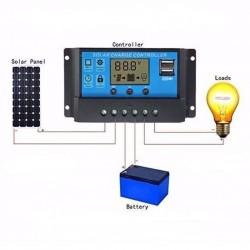 Controlador de panel solar 20A