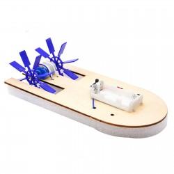 Bote con base de madera DIY