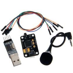 Modulo de reconocimiento de voz con adaptador  TTL a USB
