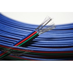 Cable de cuatro lineas (x 1 metro)