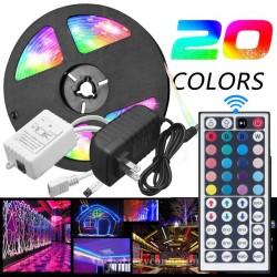 Luces RGB para navidad con control