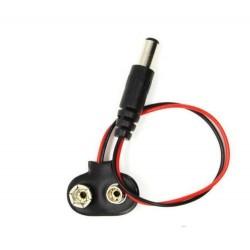 Conector de bateria 9V Arduino