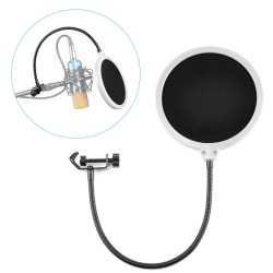 Filtro para microfono de condensador