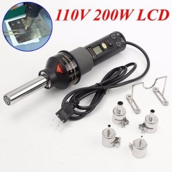 Estacion de calor digital ajustable 110V 200W