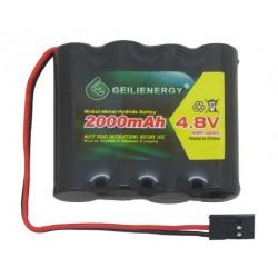 Bateria recargable 4.8V 2200 mah