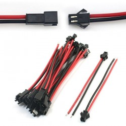 Cables terminales macho hembra(2 pares)