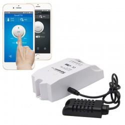 Monitor de temperatura y humedad inteligente Sonoff