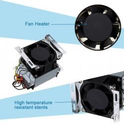 Resistencia 300W 220V con ventiladora para incubadora