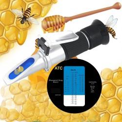 Refractometro de 58% a 90% para miel