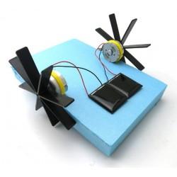 Barquito solar DIY