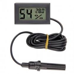 Medidor de hidrometro, humedad y temperatura interior