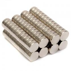 Iman de neodimio 5mm diametro x 2mm de grosor (5U)