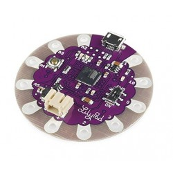 Arduino Lilypad con puerto micro USB