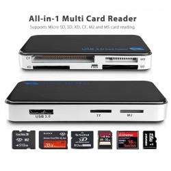 Lector de memorias compact flash, micro SD, XD, TF, CF, M2