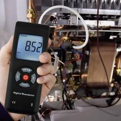 Manometro medidor diferencial de  presion gas/aire
