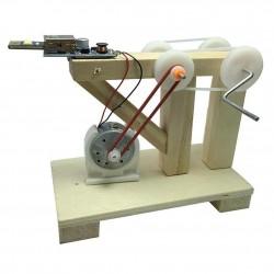 Generador de energia con manivela