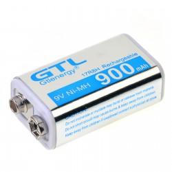 Bateria de 9V recargable