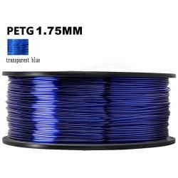 DANTI TECH Filamento PETG Azul transparente