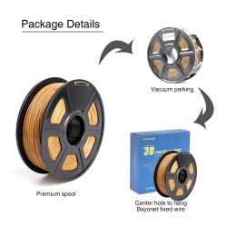 Filamento ABS para Impresora 3D 1.75mm (1KG) , café