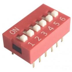 Mini interruptor 4 posiciones