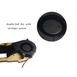 Ventiladora para impresora 3D 12V