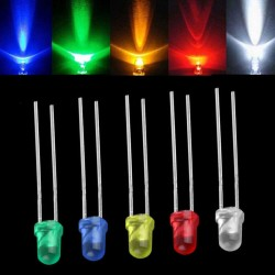 10 Luces LED 3mm
