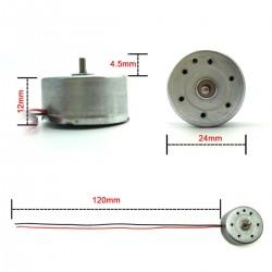 Mini generador DC bajo consumo