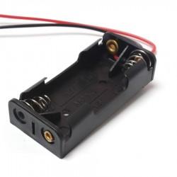 Contenedor de 2 baterias AAA