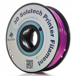 Filamento PLA solutech  Morado translucido  2.2 lb
