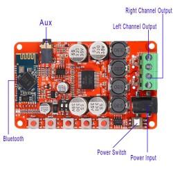 tarjeta Bluetooth con amplificador