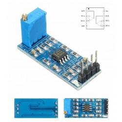 Amplificador LM358 100 veces