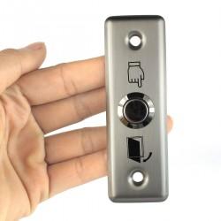 Interruptor push button control de acceso