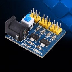 Conversor de voltaje 12 a 5 y 3.3V